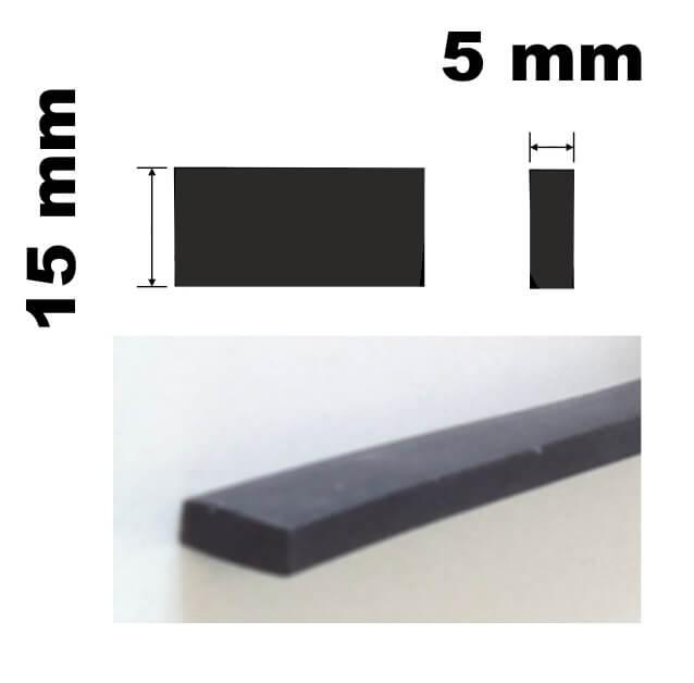 TG-320515 Výplň - tesnenie pre vyplnenie dištančných medzier 5x15