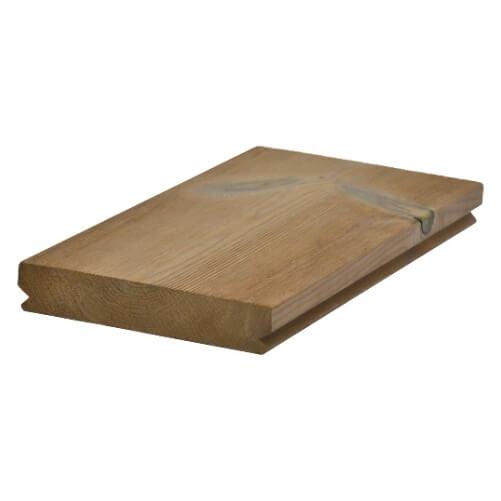 Termoborovica - terasa kartáčovaný/hladky 140x26 (3,9m)